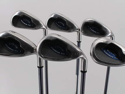 Callaway X-16 Iron Set 6-PW SW Callaway System CW75 Graphite Regular Right Handed 37.25in