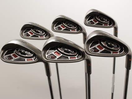 Ping G15 Iron Set 6-SW Steel Stiff Right Handed Orange Dot 36.75in