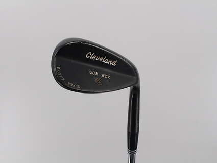 Cleveland 588 RTX Black Pearl Wedge Sand SW 54° 8 Deg Bounce Steel Wedge Flex Right Handed 35.5in