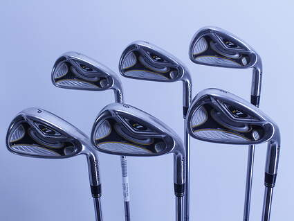 TaylorMade R7 Iron Set 5-PW TM T-Step 90 Steel Stiff Right Handed 38.0in