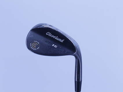Cleveland CG15 Black Pearl Wedge Sand SW 56° 14 Deg Bounce Cleveland Traction Wedge Steel Wedge Flex Right Handed 35.0in