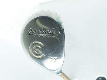 Cleveland Launcher Fairway Wood 7 Wood 7W 22° Stock Graphite Shaft Steel Regular Right Handed 42.0in