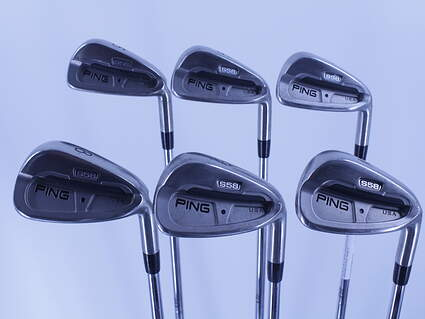 Ping S58 Iron Set 5-PW Stock Steel Shaft Steel Stiff Right Handed Black Dot 38.0in