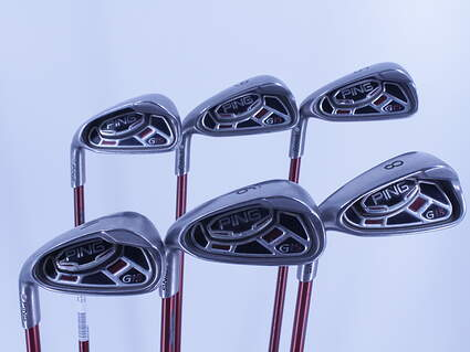 Ping G15 Iron Set 5-PW Ping TFC 149I Graphite Regular Left Handed Silver Dot 38.5in