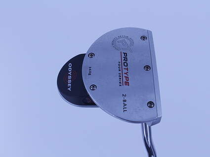 Odyssey Protype Tour 2-Ball Putter Steel Right Handed 34.0in