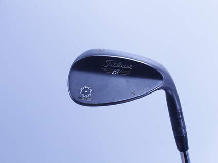 Titleist Vokey SM5 Raw Black Wedge Lob LW 58° 11 Deg Bounce K Grind Steel Wedge Flex Right Handed 35.25in