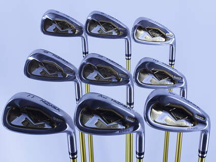 Honma iS-03 Iron Set 5-PW GW SW Stock Graphite Shaft Graphite Regular Right Handed 37.5in