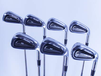 Cleveland CG16 Tour Satin Chrome Iron Set 4-PW True Temper Dynamic Gold S300 Steel Stiff Right Handed 38.0in