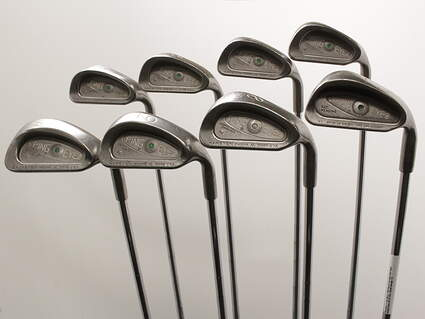 Ping Eye 2 + Iron Set 3-PW Ping ZZ Lite Steel Stiff Right Handed Green Dot 37.75in