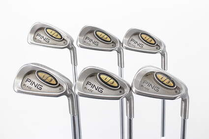 Ping i3 Blade Iron Set 5-PW Stock Steel Shaft Steel Stiff Right Handed Black Dot 38.75in