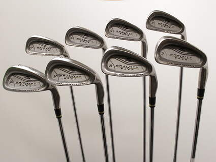 Cobra Gravity Back Iron Set 3-PW Stock Steel Shaft Steel Regular Right Handed 37.75in