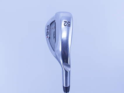 Ping Tour-W Brushed Silver Wedge Gap GW 52° 12 Deg Bounce True Temper Dynamic Gold Steel Wedge Flex Right Handed Red dot 35.5in