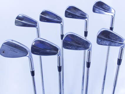 Titleist 690.MB Forged Iron Set 3-PW True Temper Dynamic Gold S300 Steel Stiff Right Handed 38.0in