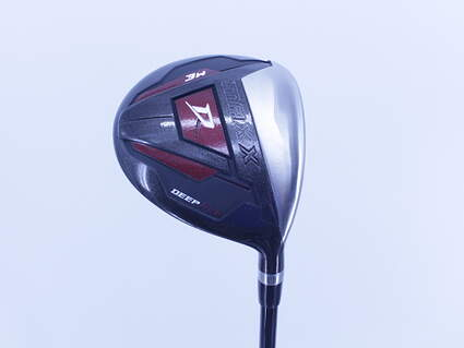 Wilson Staff Deep Red II Distance Fairway Wood 3 Wood 3W 15° Stock Graphite Shaft Graphite Right Handed 43.0in