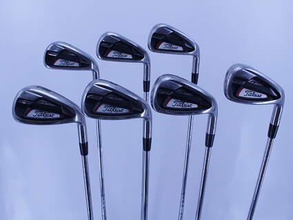 Titleist 714 AP1 Iron Set 5-GW True Temper XP 95 R300 Steel Regular Right Handed 37.5in