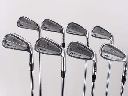 Titleist 712 CB Iron Set 3-PW True Temper Dynamic Gold S300 Steel Stiff Right Handed 38.0in