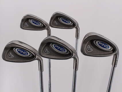 Ping i5 Iron Set 6-PW Stock Steel Shaft Steel Right Handed White Dot 38.0in