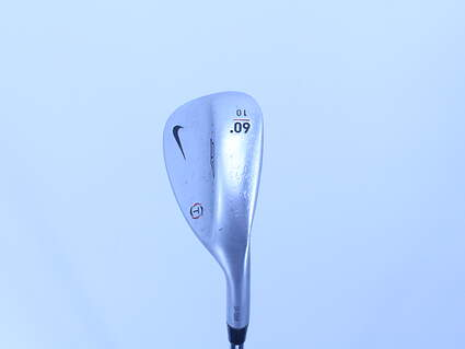 Nike SV Tour Chrome Wedge Lob LW 60° 10 Deg Bounce T Grind True Temper Dynamic Gold S400 Steel Stiff Right Handed 34.5in