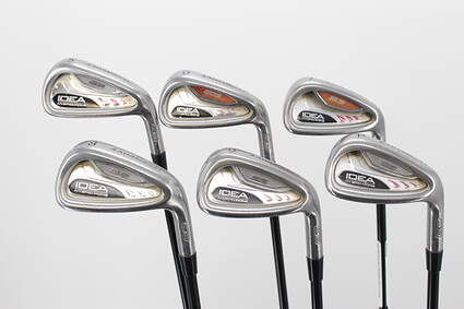 Adams Idea A3 Iron Set 5-PW Grafalloy Attack Lite Graphite Regular Right Handed 37.75in