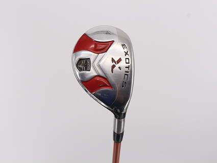 Tour Edge Exotics CB3 Tour Fairway Wood 4 Wood 4W 21° Accra AXIV Series XH 85 Graphite Right Handed 41.75in