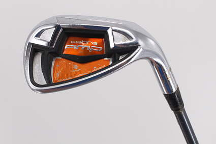 Cobra AMP Cell Orange Single Iron Pitching Wedge PW 49° Adams Mitsubishi Bassara 60 Graphite Regular Right Handed 35.75in