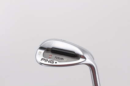 Ping Tour-W Brushed Silver Wedge Gap GW 56° 10 Deg Bounce Ping AWT Steel Stiff Right Handed Black Dot 36.0in