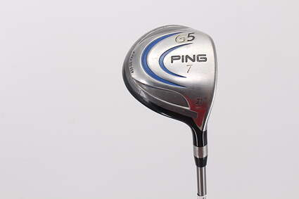 Ping G5 Fairway Wood 7 Wood 7W 21° Accra M3 RT Graphite Regular Right Handed 43.0in