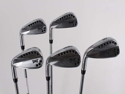 PXG 0311 Chrome Iron Set 6-PW True Temper Elevate 95 Steel Stiff Left Handed 37.0in