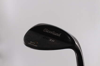 Cleveland CG15 Black Pearl Wedge Sand SW 56° 14 Deg Bounce Cleveland Action Ultralite 50 Steel Wedge Flex 35.75in