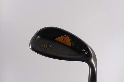 Cleveland CG14 Gunmetal Wedge Sand SW 54° 12 Deg Bounce Cleveland Traction Wedge Steel Wedge Flex Right Handed 36.5in