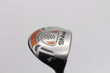 Ping G10 Fairway Wood 4 Wood 4W 17° Grafalloy ProLaunch Red FW Graphite Stiff Right Handed 42.75in