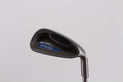 Ping G2 Single Iron 3 Iron Stock Steel Shaft Steel Stiff Right Handed Black Dot 38.75in