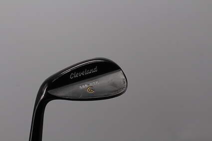 Cleveland 588 RTX Black Pearl Wedge Lob LW 58° 12 Deg Bounce True Temper Dynamic Gold Steel X-Stiff Left Handed 36.0in