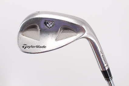 TaylorMade Rac MB TP Wedge Sand SW 56° Stock Steel Shaft Steel Wedge Flex Right Handed 35.5in