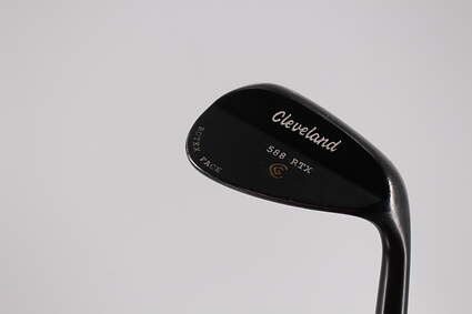 Cleveland 588 RTX Black Pearl Wedge Gap GW 52° Cleveland ROTEX Wedge Steel Wedge Flex Right Handed 35.5in