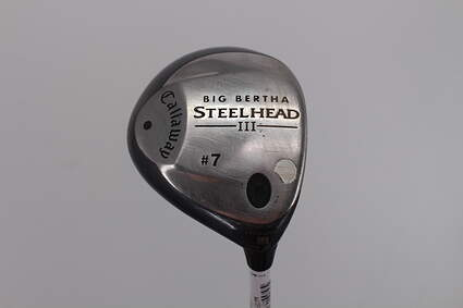 Callaway Steelhead III Fairway Wood 7 Wood 7W Callaway System III Graphite Ladies Right Handed 41.0in
