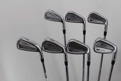 Titleist 712 CB Iron Set 4-PW True Temper Dynamic Gold S300 Steel Stiff Right Handed 38.25in