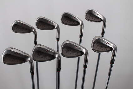 TaylorMade Supersteel Iron Set 3-PW TM S-90 Steel Stiff Right Handed 39.5in