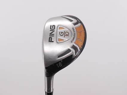 Ping G10 Hybrid 2 Hybrid 18° Ping TFC 129H Graphite Stiff Left Handed 40.5in