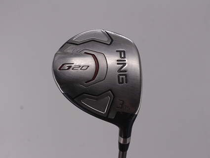 Ping G20 Fairway Wood 3 Wood 3W 15° Ping TFC 169F Graphite X-Stiff Right Handed 41.5in