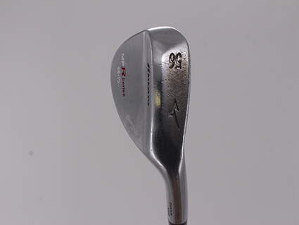 Mizuno MP-R Chrome Wedge Sand SW 56° 10 Deg Bounce Stock Steel Shaft Steel Wedge Flex Right Handed 35.5in