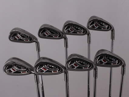 Ping G15 Iron Set 4-PW SW Ping CFS Steel Stiff Right Handed Green Dot 38.5in