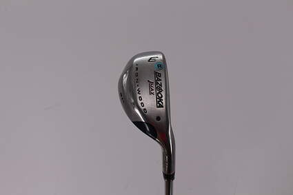 Tour Edge Bazooka Jmax Tour Ironwood Hybrid 3 Hybrid 21° Stock Steel Shaft Steel Regular Right Handed 38.5in