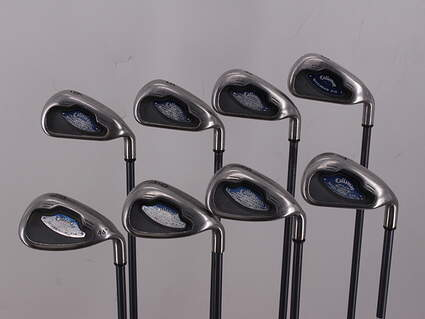 Callaway X-16 Iron Set 3-PW Callaway System CW75 Graphite Regular Right Handed 38.0in