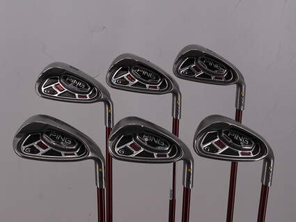 Ping G15 Iron Set 6-GW Ping TFC 149I Graphite Soft Regular Right Handed Yellow Dot 37.5in