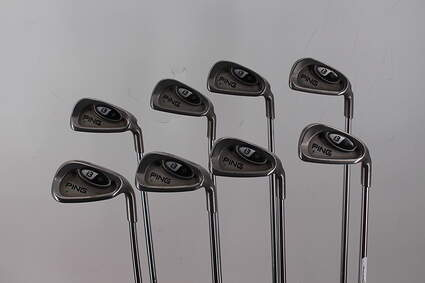 Ping i3 + Iron Set 3-PW Stock Steel Shaft Steel Stiff Right Handed Green Dot 38.0in