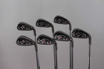 Ping G15 Iron Set 4-PW Ping AWT Steel Regular Right Handed Green Dot 37.75in