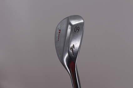 Mizuno MP-R Chrome Wedge Lob LW 60° 9 Deg Bounce True Temper Dynamic Gold Steel Wedge Flex Right Handed 35.25in