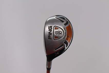 Ping G10 Hybrid 5 Hybrid 24° Ping TFC 129H Graphite Regular Left Handed 39.25in