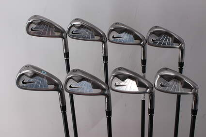 Nike NDS Iron Set 3-PW Stock Graphite Shaft Graphite Regular Right Handed 39.5in